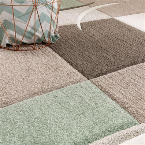 teppiche pastellfarben designer teppich karo pastellt 246 ne gr 252 n design teppiche