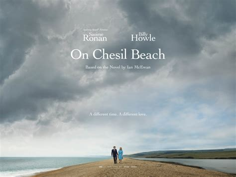 on chesil beach launch poster arrives for on chesil beach film and tv now