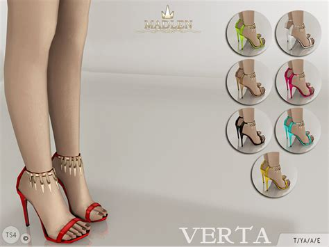 sims 4 shoes the sims resource mj95 s madlen verta shoes