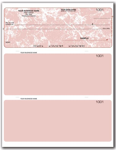 business checks template quicken quickbooks laser checks style lqal