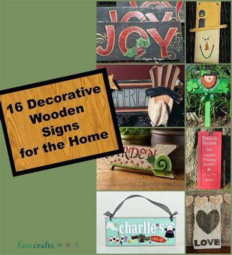 decorative signs for home 16 decorative wooden signs for the home favecrafts