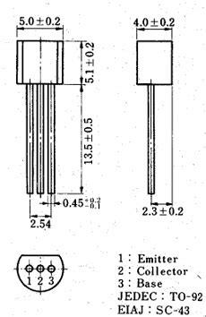 datasheet c828 transistor pdf c828 transistor datasheet 2sc828 npn toshiba