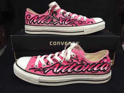 quinceanera shoes quincea 241 era shoes mis quince a 241 os custom converse
