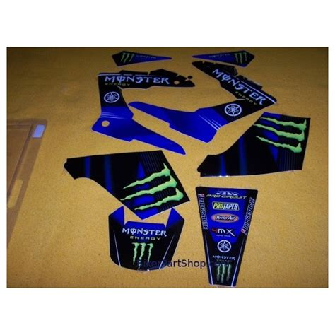 Stickers Yamaha Dtr 125 by Stickers Decals Energy For Yamaha Dtre Dtx Dt Re 125