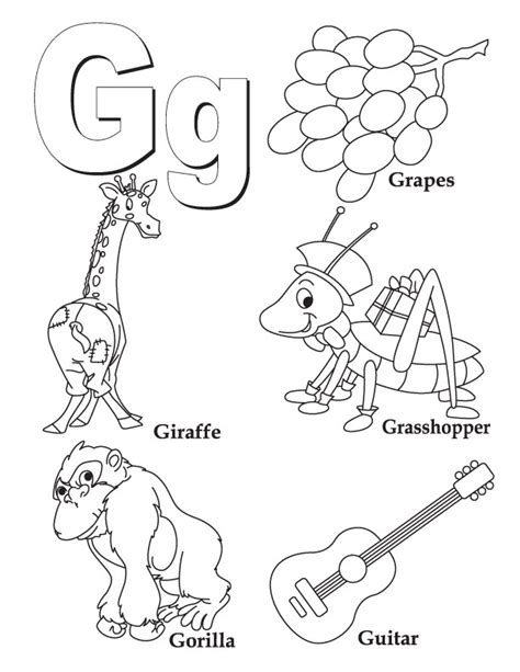 free coloring pages of and g coloring pages az coloring pages