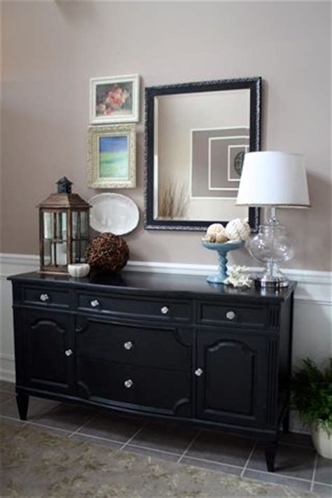 Black Dining Room Buffet by Best 25 Black Buffet Ideas On Wine Decor For