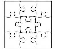 puzzle stencil template 1000 images about jigsaw display on classroom