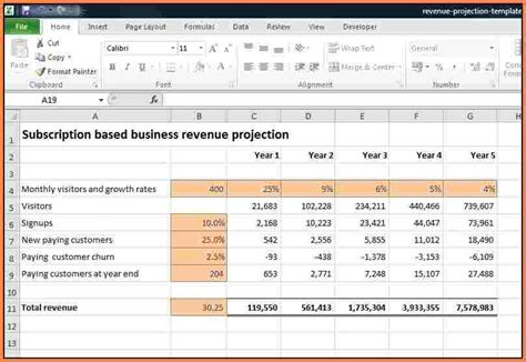 Income Projection Spreadsheet by 9 Income Projection Spreadsheet Excel Spreadsheets