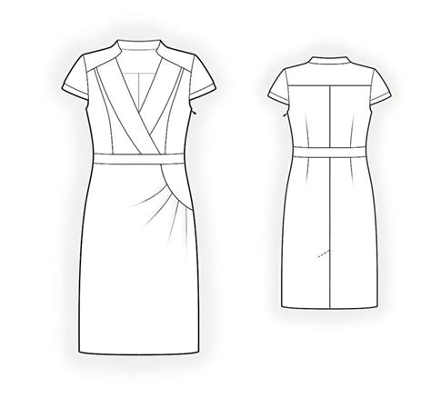 dress design draping and flat pattern making download 1000 images about uniform technical drawing on pinterest