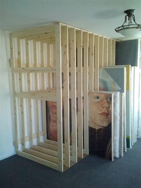 art racks respecting the space home