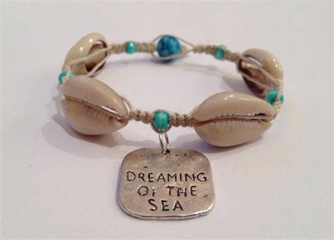 Dreaming of the Sea Hemp and Shell Bracelet by BeachyKeenStyle   Accesorios   Pinterest
