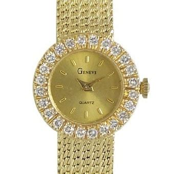 geneve w20900 14k solid gold watchallure