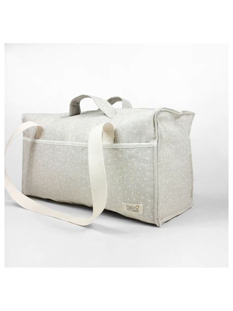 white ministar maternity bag babyshower