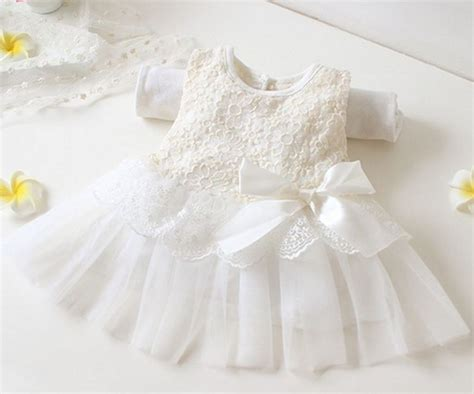 Romper Bayibaby Romperdress Bayidress Baby 8 newborn 0 3 months white dress christening dress for white baby dress formal wear for