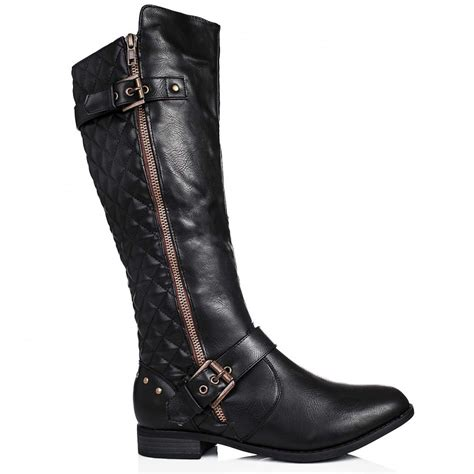 buy biker knee high boots 28 images buy oasis flat knee high