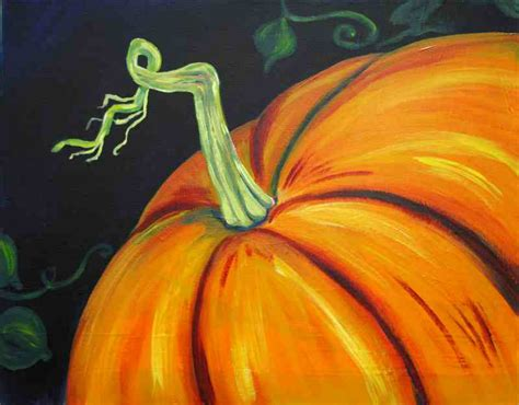 pumpkin paintings 3 hour paintings painting and pinot