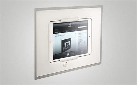 home design ipad walls iroom glass minidock ipad mini wall mount dock buywithnous