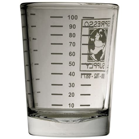 ounces in shot of espresso 4 ounce logo shot glass espresso supply inc