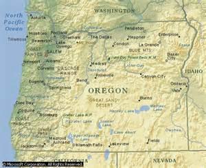 oregon coastal map with towns oregon coast best beaches