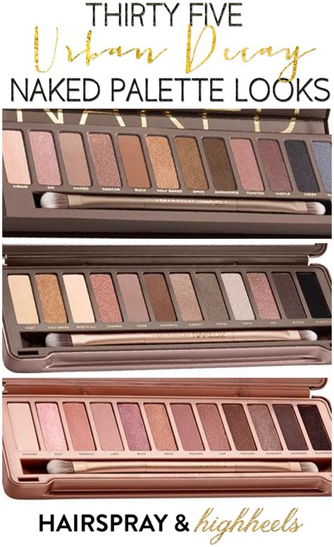 Rude In Your 3 In 1 Palette palette looks hairspray and highheels