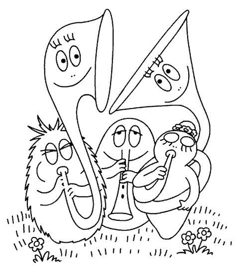 barbapapa coloring pages coloringpages1001 com
