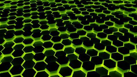 green hexagon wallpaper   themusicfox  deviantart