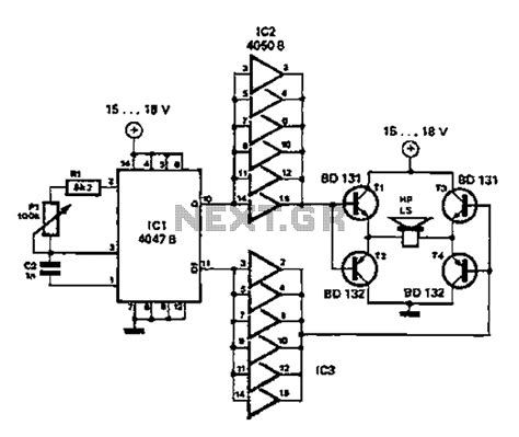 simple diagram of integrated circuit gt other circuits gt simple circuit diagram repellent l58900 next gr