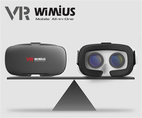 vr android aliexpress buy wimius all in one vr headset 3d glasses reality headset android 360