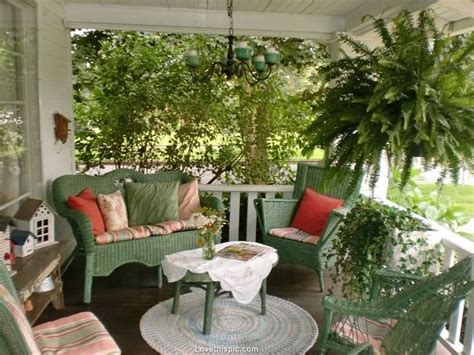 perfect front porch home sweet green country porch cozy
