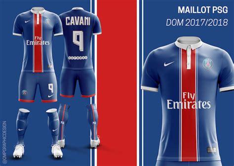 les maillots   des gros clubs de ligue  concept