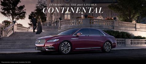 new lincoln continental pics 2017 lincoln continental reportedly priced from 46 000