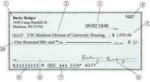 personal check payments housing
