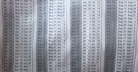 Depo Calendar Depo Calendar January 1st To July 3rd Girly