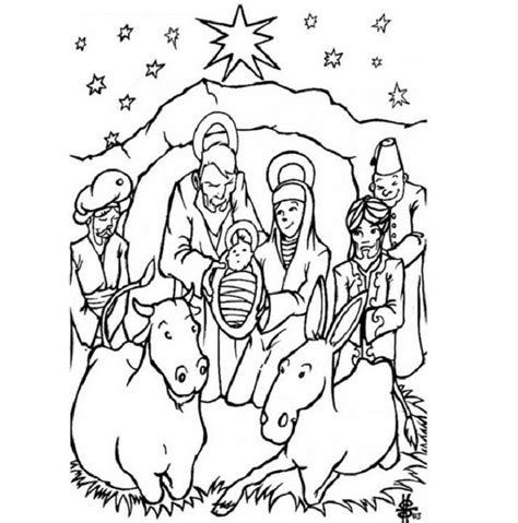 bible story coloring book christian symbols clip 41