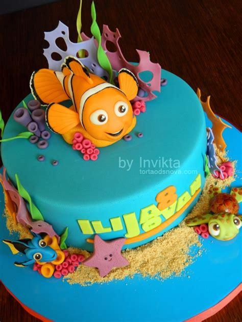 nemo cake template finding nemo birthday cake cakecentral