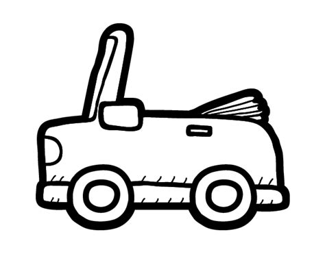 coloring pages of convertible cars convertible car coloring page coloringcrew com
