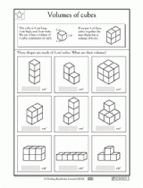 printables volume counting cubes worksheet gozoneguide 5th grade math worksheets cubes of small numbers