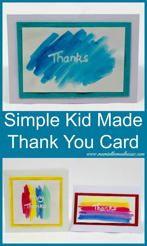 Thank You Cards Made By