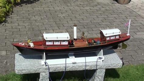 steam boat thames steam model boat miranda thames youtube