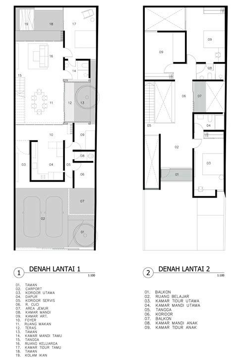 desain rumah minimalis  lantai  keluarga muda casaindonesiacom