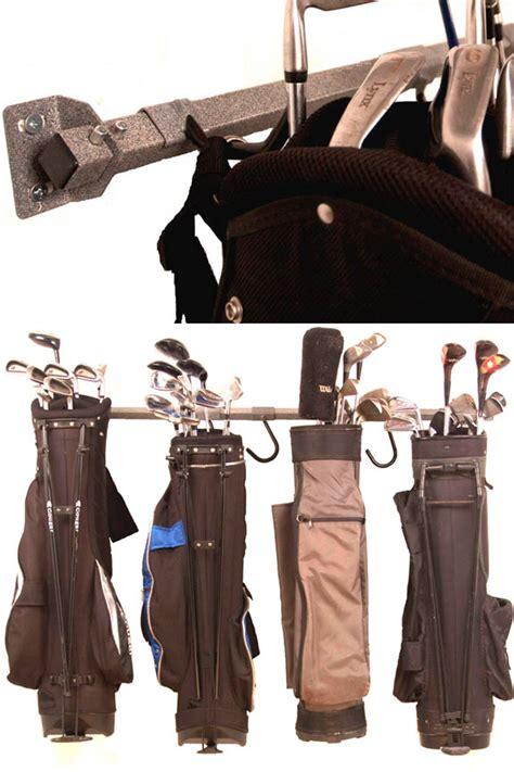 Large Golf Bag Storage Rack   6 Bags or Carts