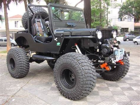 jeep willys lifted great black lifted willys jeep jeeps jeeps