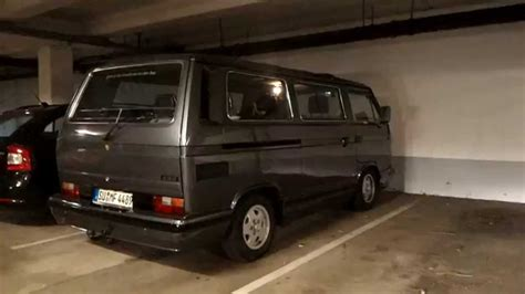 vw  caravelle carat sound check tiefgarage youtube