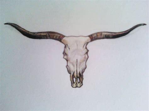 tribal longhorn tattoo longhorn skull longhorn