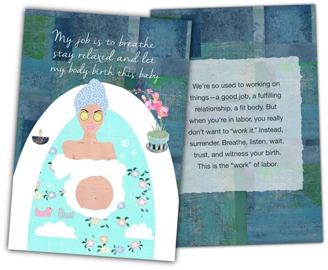 Affirmation Card Templates by Pregnancy Affirmation Cards