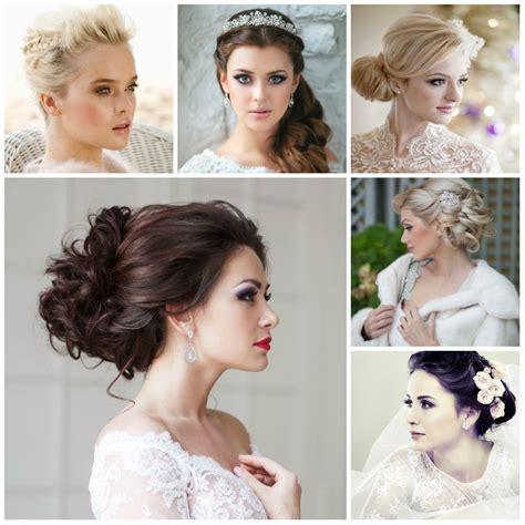 Wedding Hairstyle 2016 by Wedding Hairstyles 2017 Haircuts Hairstyles And Hair Colors