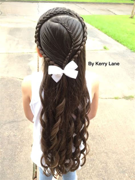 easy cascading braids hairstyles 25 best ideas about kids curly hairstyles on pinterest