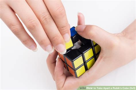 take appart how to take apart a rubik s cube 3x3 9 steps with