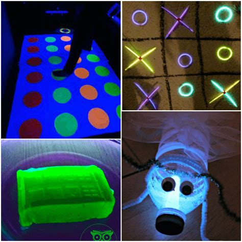glow in the crafts for glow stick bug crafts
