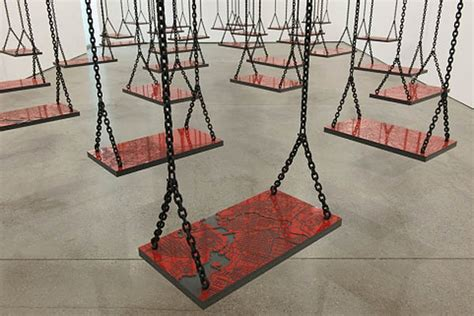 swing on sight family mona hatoum suspended and more collabcubed